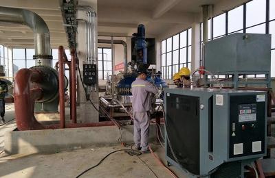 锅炉安装维修实训现场