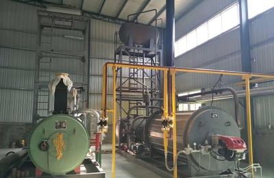 锅炉安装工程现场